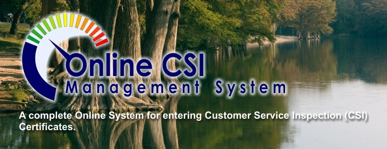 CSI Tracking System